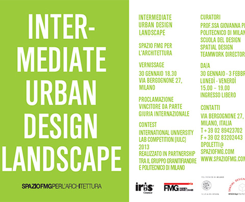 INTERMEDIATE URBAN DESIGN LANDSCAPE