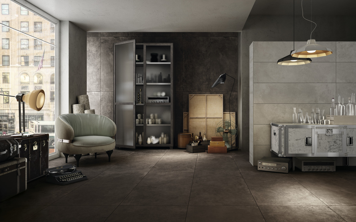 DIESEL LIVING WITH IRIS CERAMICA HARD LEATHER