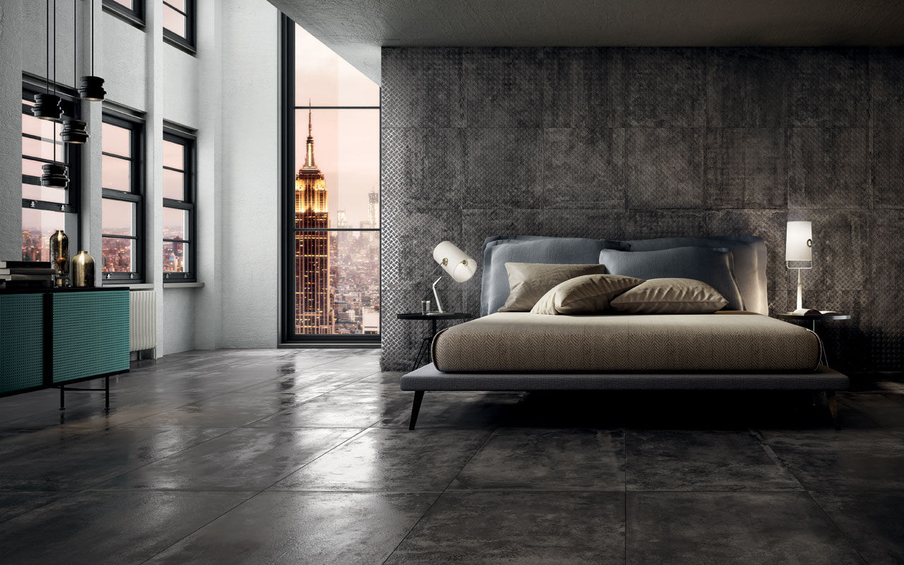 Stage grey boss floor and wall tiles iris ceramica - Posa piastrelle 120x60 ...
